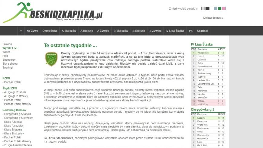 Beskidzkapilka.pl - Pomagamy!