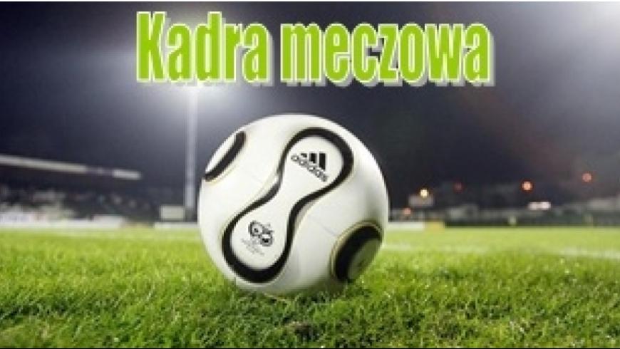 Kadra na mecz mistrzowski Pogoń Zduńska Wola - MLKS Konopnica