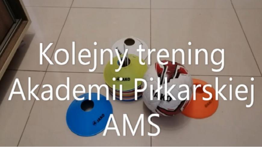 Treningi z Akademią Piłkarską AMS nabierają rozmachu