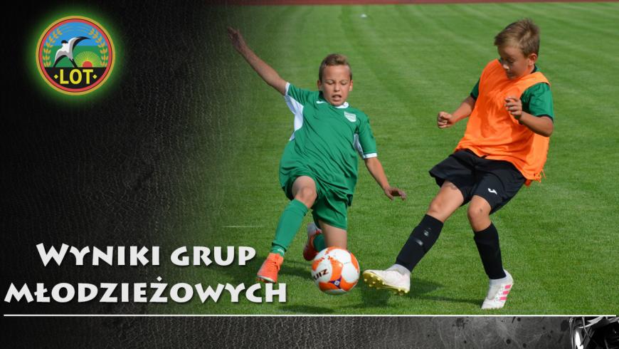 Wyniki grup młodzieżowych /07-09 września/