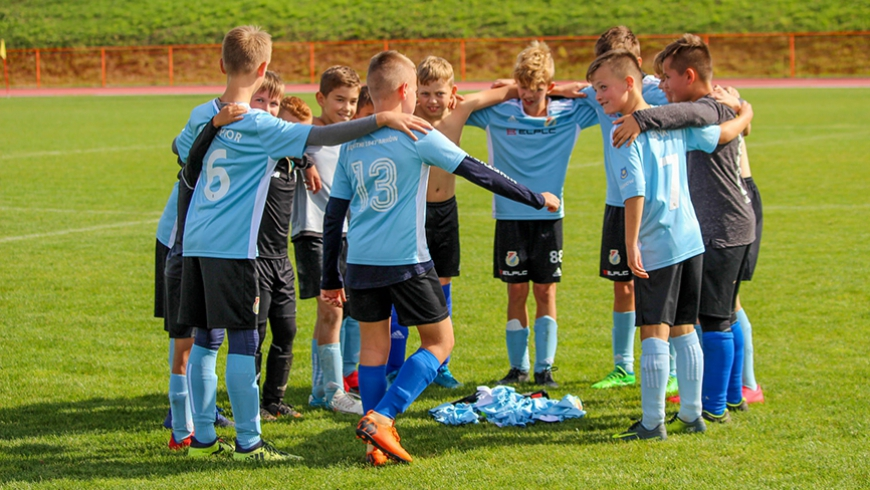 Najmłodsi ligowcy Błękitnych Tarnów – drużyna młodzików