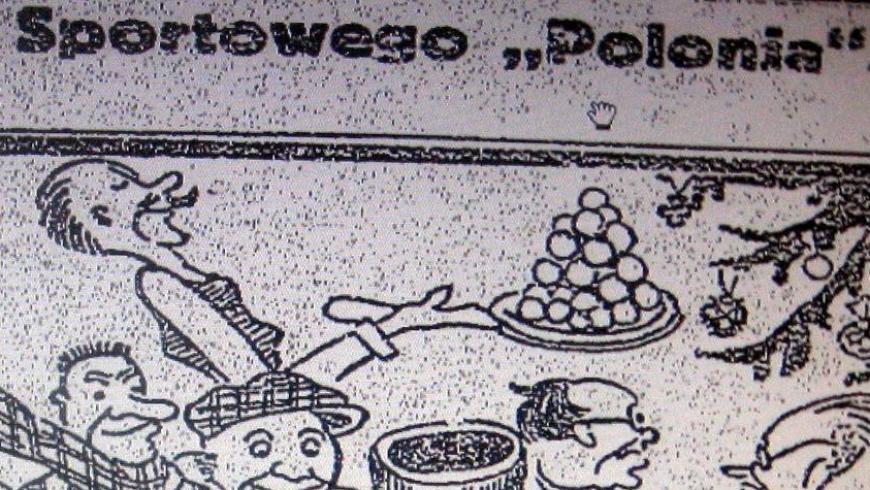 Wigilia Polonii w karykaturze