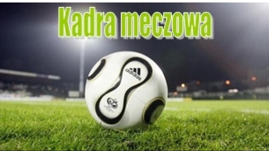 Kadra na mecz mistrzowski Pogoń Zduńska Wola - Victoria Szadek