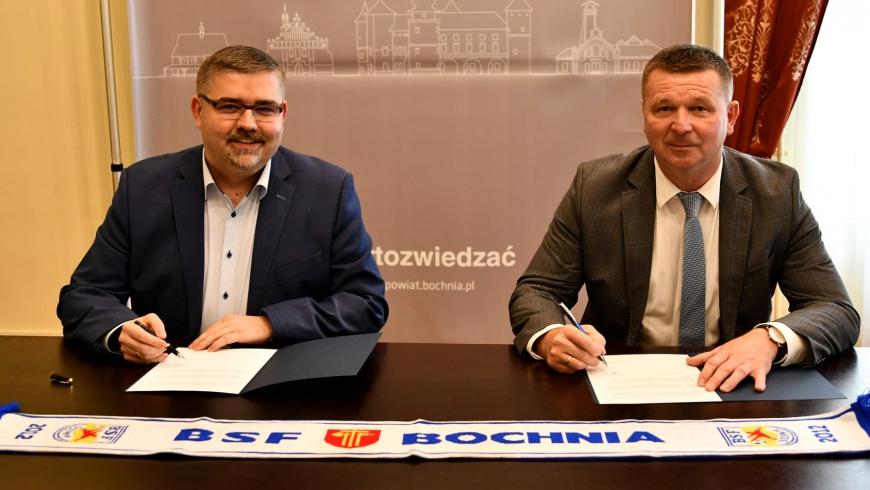 Powiat Bocheński partnerem BSF ABJ Bochnia!