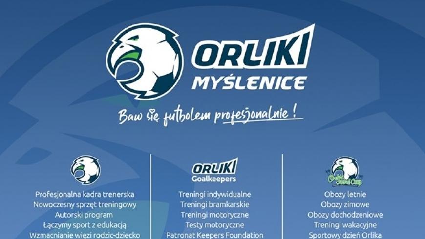 Treningi naborowe w szkółce piłkarskiej Orliki Myślenice!