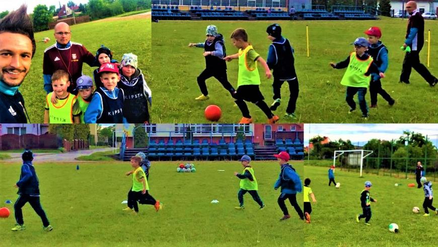 Trenują dzieci z AP Sztum 2014/2015!