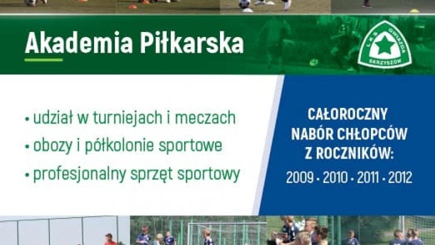 Zapraszamy na treningi do Akademii Piłkarskiej!