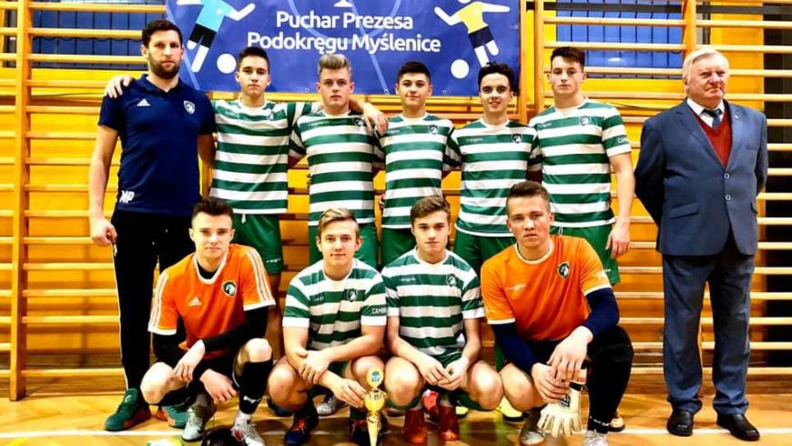 U19: Juniorzy tuż za podium w Halowych Mistrzostwach Podokręgu Myślenice