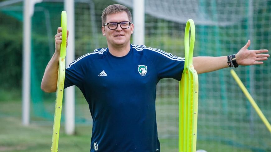 Kamil Ostrowski: Chodzi o rozwój zawodników, który wpływa na wyniki