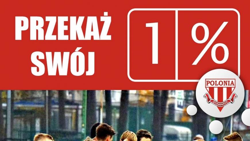 Przekaż 1% na wsparcie młodzieży KP Polonia Bydgoszcz!