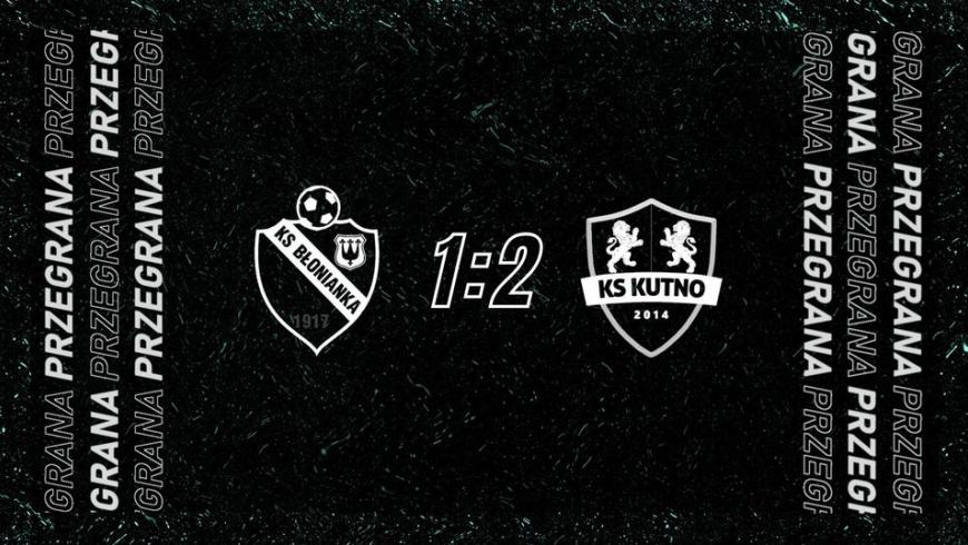Skrót meczu Błonianka Błonie 1-2 KS Kutno